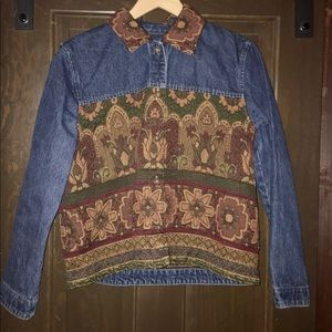 Women's Vintage Denim Jacket